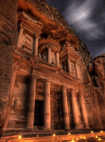 The Magestic Treasury, Petra, Jordan